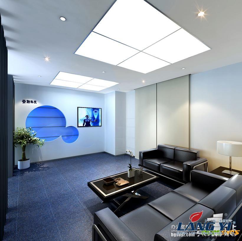 写字楼装潢设计 洽谈室效果图,上海办公室装修公司