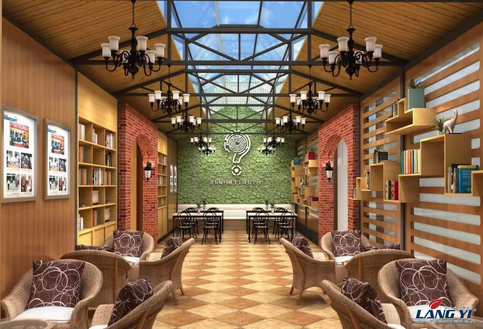 室内广东11选5走势图下载 网吧咖啡厅设计效果图,上海办公室广东11选5走势图下载公司