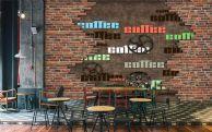 室内装饰|网吧咖啡厅设计效果图