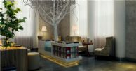 室内装饰设计|网吧咖啡厅案例